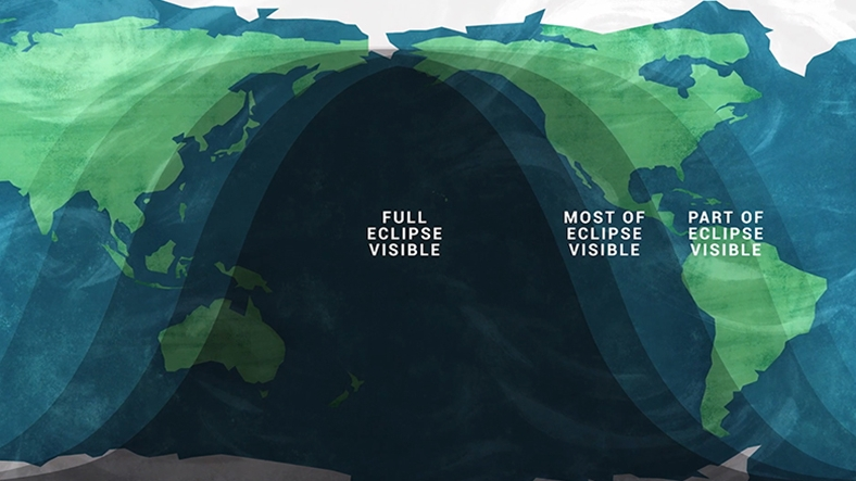 The path of the May 2021 lunar eclipse (Credit: NASA/JPL-Caltech)