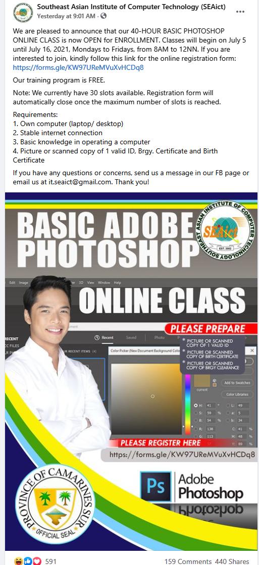 Photoshop Class