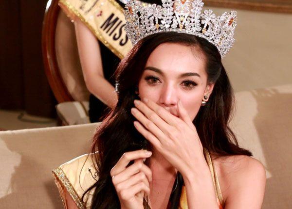 Miss Grand Thailand เปิดใจทั้งน้ำตา หลังได้รับตำแหน่ง