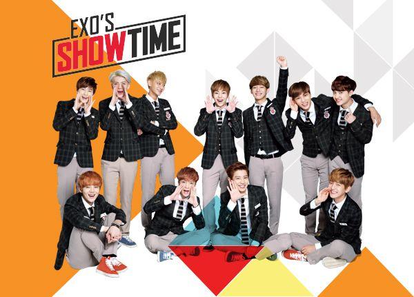 เอ็กซ์โซส์ โชว์ไทม์ (EXO's Showtime)