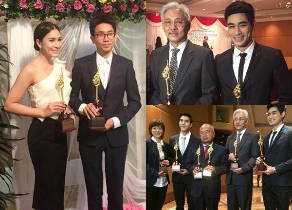 จุ๋ย-โฬม คว้ารางวัล ราชบัณฑิตยสถานสรรเสริญ ผู้ใช้ภาษาไทยดีเด่น