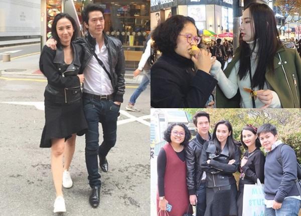 ซารางเฮโย!! อั้ม-แอมป์ คู่รักปาท่องโก๋ สวีทไม่แคร์อากาศหนาวที่เกาหลี