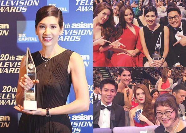 นุสบา โชว์เก๋า ซิวรางวัลจากงาน 20th ASIAN TELEVISION AWARDS 2015 ได้สำเร็จ!!