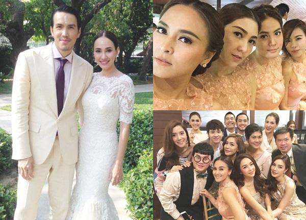หวานชื่น!! เจนสุดา-พอล เข้าพิธีแต่งงานตามประเพณีไทยอย่างเรียบง่าย คนบันเทิงร่วมยินดีคับคั่ง