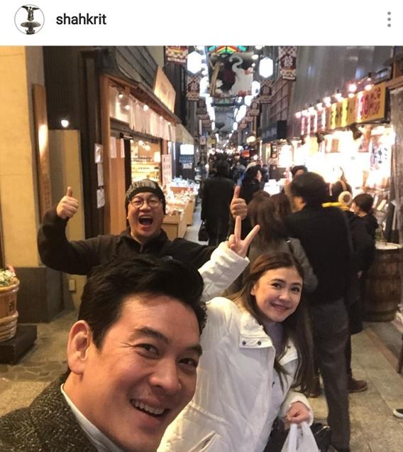 ชาคริต ควงภรรยาเที่ยวญี่ปุ่น