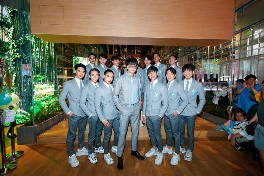 นนท์ ธนนท์ กับ 13 หนุ่ม Cuteboy Thailand