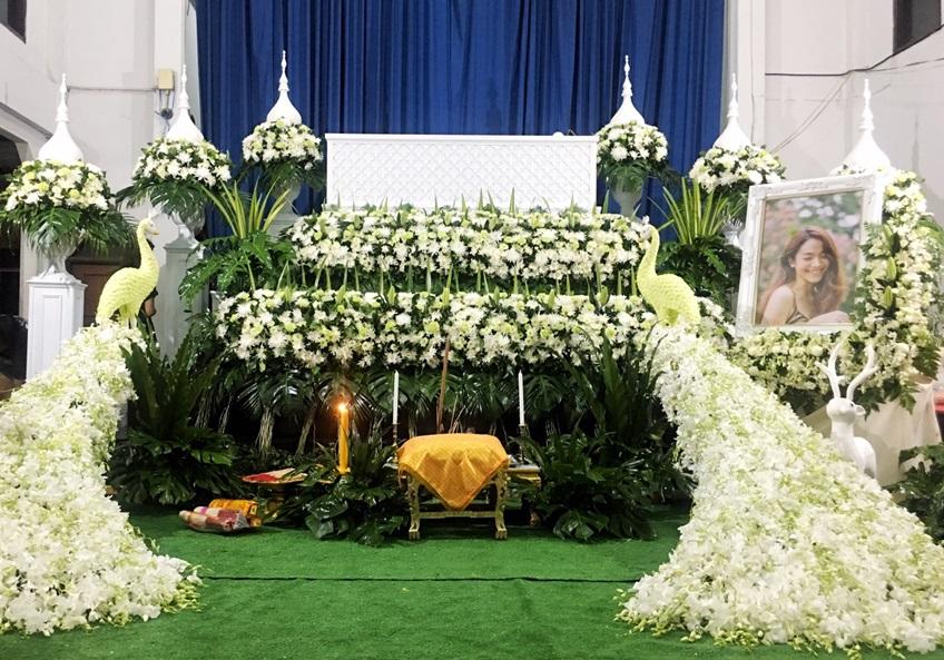 งานศพ น้ำตาล เดอะสตาร์