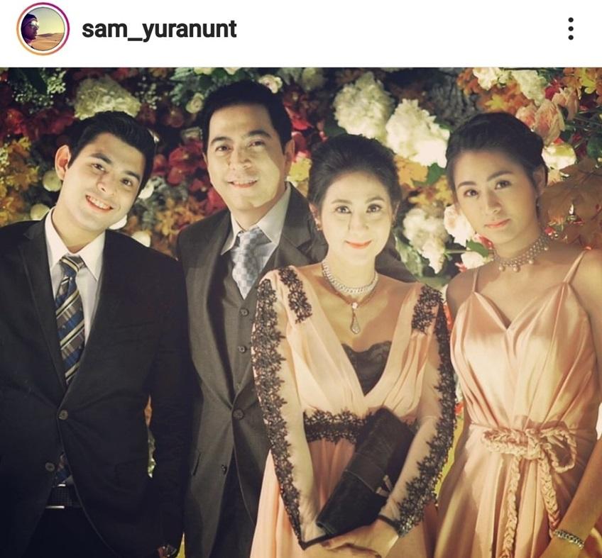 แซม ยุรนันท์กับครอบครัว