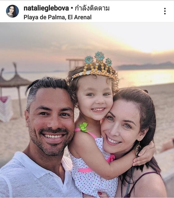 นาตาลี เกลโบวา และครอบครัว