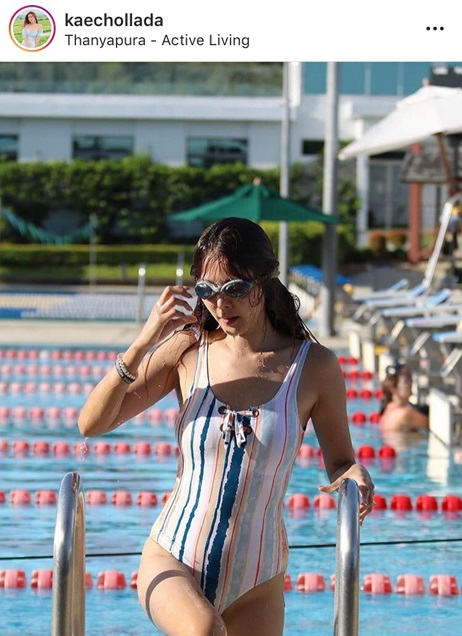 เก๋ ชลลดา ชุดว่ายน้ำ