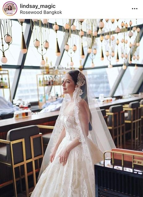 นาตาลี ชุดแต่งงาน