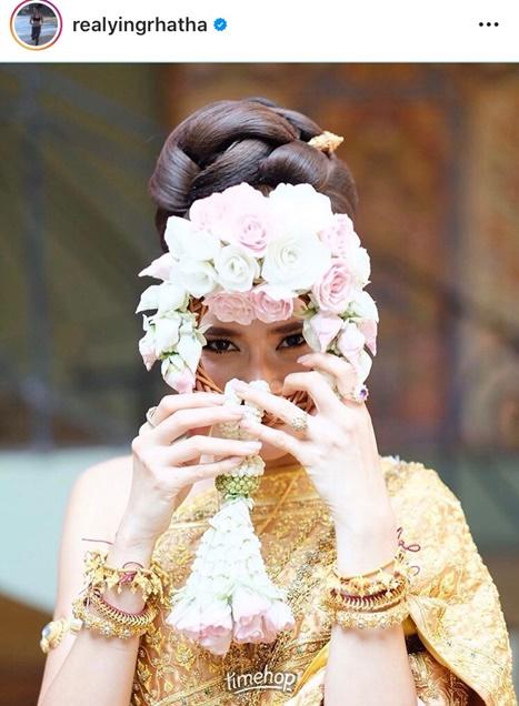 ดาราใส่ชุดไทย วันสงกรานต์ 2563