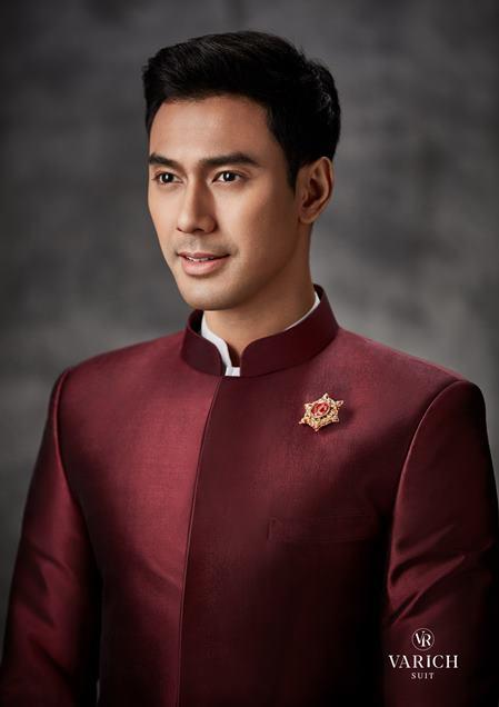 เอส กันตพงศ์ พระเอกช่อง7 ถ่ายแบบชุดไทย