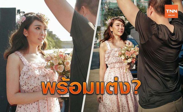 """""""หญิงแย้ นนทพร""""แชร์โมเมนต์พิเศษ เพื่อนๆแห่ถาม ขอแต่งงาน?"""