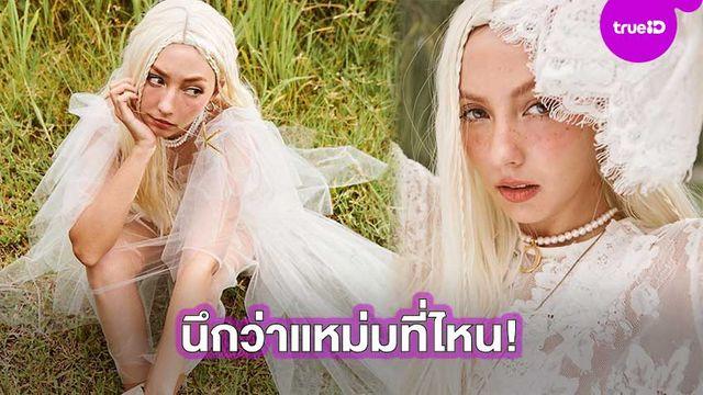 โซคิ้วท์!! คารีสา แปลงโฉมเป็นแหม่สาวผมทอง สวยมีเสน่ห์ทุกช็อต