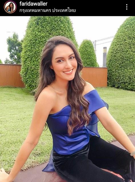 ริด้า ฟาริด้า วัลเลอร์ Miss Universe Thailand 2012