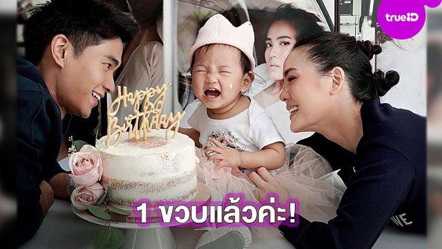 1 ขวบแล้วค่ะ!! เจนี่-มิกกี้ แชร์โมเมนต์สุดคิ้วท์ของลูกสาว น้องโนล่า ฉลองวันเกิด