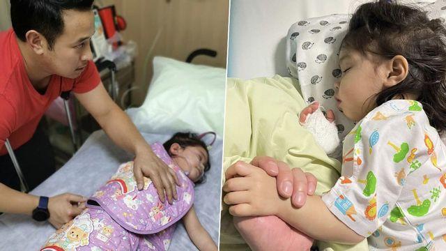 เบนซ์ เผยอาการ น้องปราง แพ้เฉียบพลัน-ตัวบวม มิค ร้องไห้เป็นห่วงลูก