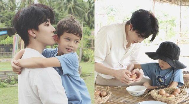 ชมความน่ารักของ 'ไมค์-แม็กซ์เวลล์' กับคลิปสอนลูกชายทำไข่เจียว