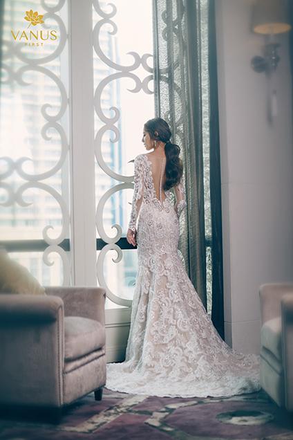 ดาเมจเกินต้าน! พิกเล็ท ชาราฎา สวยหรูหราในชุดแต่งงาน ออร่าเจ้าสาวมาแรงมาก