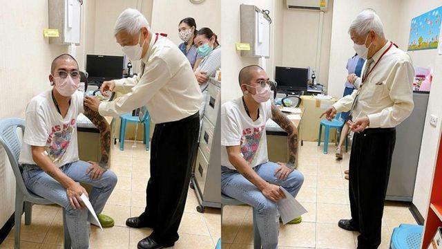 แจ๊ส ร่วมโครงการวิจัยฯ วัคซีนโควิด หมอยง ฉีดให้เอง มือเบา-ปล่อยมุข