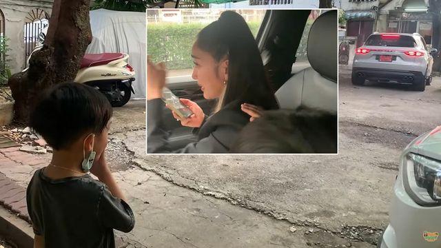 สะเทือนใจ เรซซิ่ง คอยปลอบแพทร่ำไห้ฝากดูแลแม่ ลูกชายยืนส่งจนรถลับตา