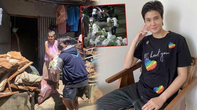 ใจหล่อมาก หมอเจี๊ยบ ส่งถุงยังชีพ 600 ถุง ช่วยผู้ประสบอุทกภัย ชาวชัยภูมิ