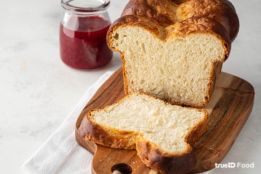 ขนมปัง บริยอช brioche