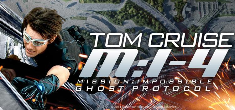 Mission: Impossible - Ghost Protocol มิชชั่น:อิมพอสซิเบิ้ล ปฏิบัติการไร้เงา