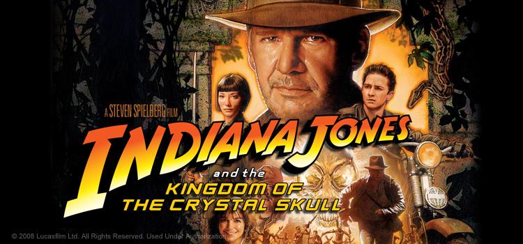 Indiana Jones and the Kingdom of the Crystal Skull ขุมทรัพย์สุดขอบฟ้า 4: อาณาจักรกะโหลกแก้ว