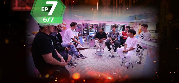 ดูย้อนหลัง Show me the money EP7 (6/7) - SMTM Episode 7 (6/7)