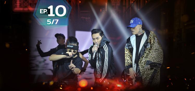 ดูย้อนหลัง Show me the money EP10 (5/7) - SMTM Episode 10 (5/7)