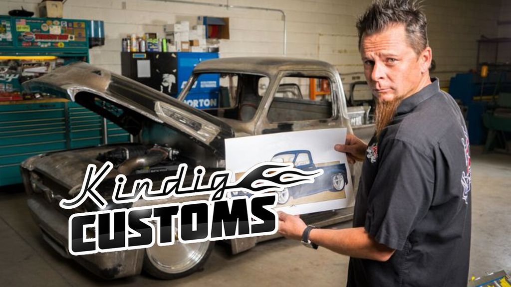 Kindig Customs Season 5 Kindig Customs Season 5 : LITTLE RED CORVETTE