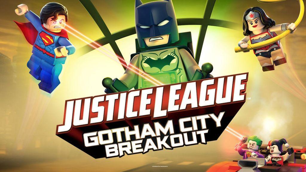 Lego DC Comics Super Heroes Justice League: Gotham City Breakout เลโก้ จัสติซ ลีก: สงครามป่วนเมืองก็อตแธม