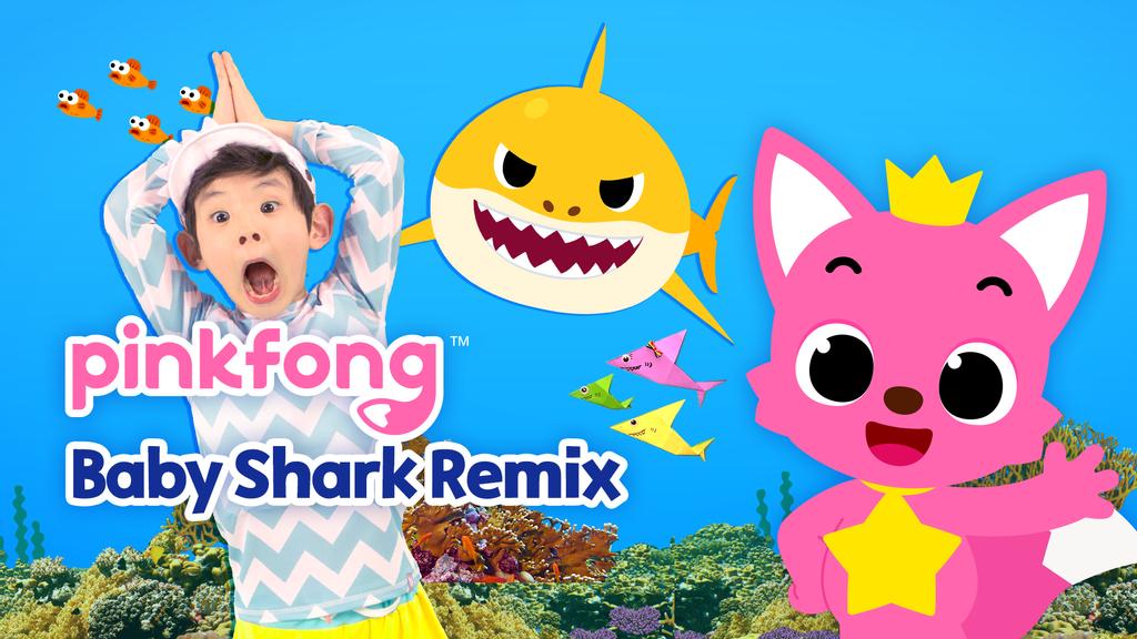 Pinkfong Baby Shark Remix