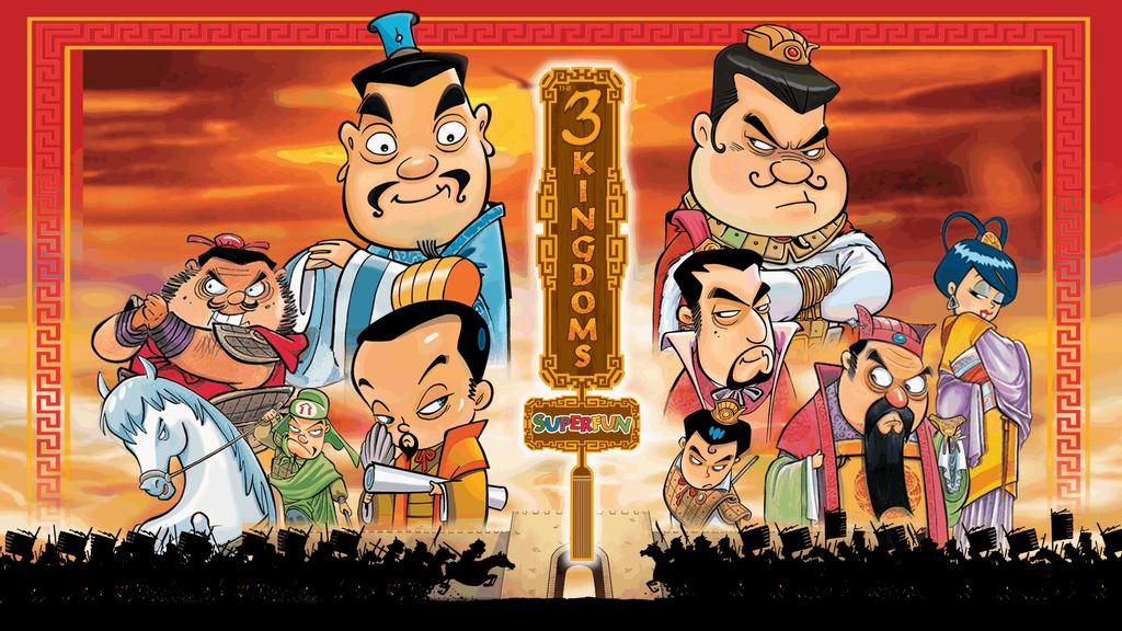 The 3 Kingdoms Super Fun