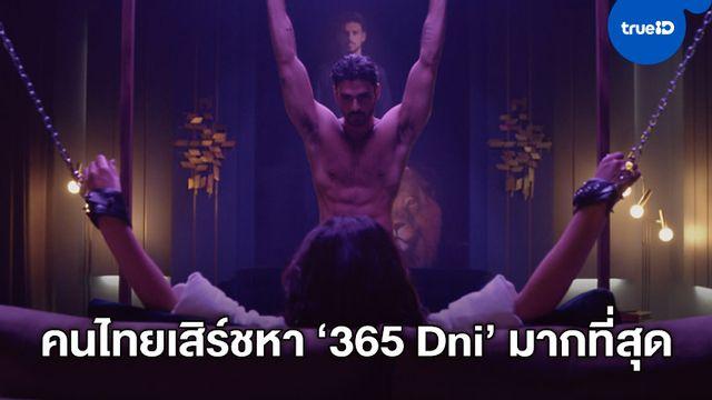 """อีโรติกร้อนเร่า """"365 Dni"""" เป็นหนังที่คนไทยเสิร์ชหามากที่สุดของปี 2020"""