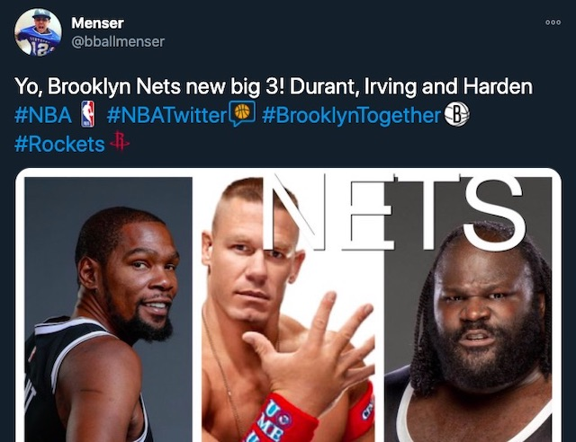 The James Harden Deal Completes The Brooklyn Nets Big 3 And Hypes Up The Nba Nation With The News Trueid