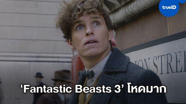 """เอ็ดดี้ เรดเมย์น ต้องกัดฟันว่ายน้ำกลางฤดูหนาว ถ่ายหนัง """"Fantastic Beasts 3"""""""