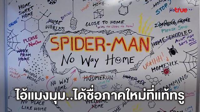 """เลิกแกงคนทั้งโลก! ไอ้แมงมุม 3 ได้ชื่อเรียกแล้วว่า """"Spider-Man: No Way Home"""""""