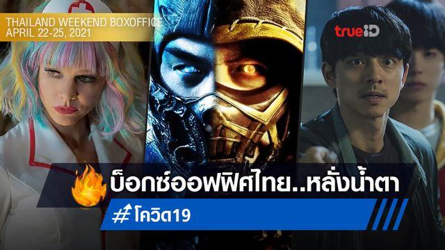 "[Thailand Boxoffice] ""Mortal Kombat"" ยึดแชมป์สุดเหงา โรงหนังโดนพิษโควิดซ้ำ"