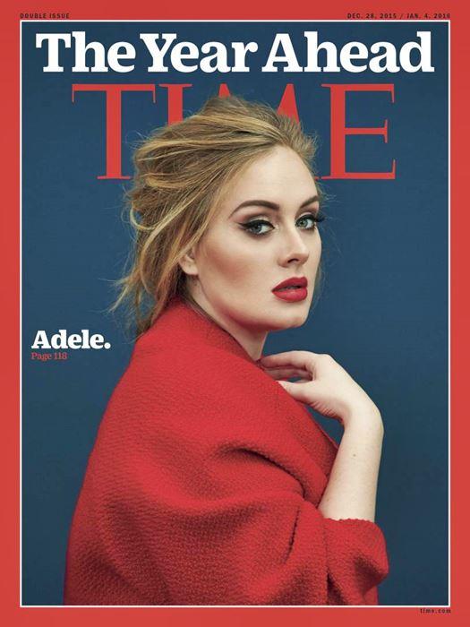 ADELE ยังแรงไม่หยุด ล่าสุดได้รับเกียรติขึ้นปก TIME Magazine