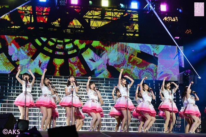 (มีคลิป) ลุยเต็มที่! VTR ประกาศสร้าง BNK48 ประเทศไทย ส่งตรงจากคอนเสิร์ต AKB48