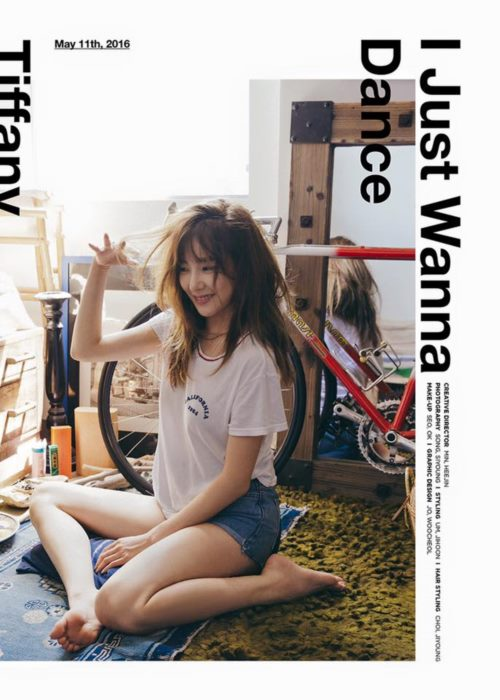 โซวอน ไลค์รัวๆ ! TIFFANY แห่ง GIRLS' GENERATION เตรียมส่งโซโล่มินิอัลบั้ม I Just Wanna Dance!