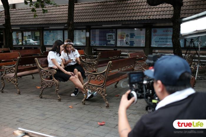 (คลิป) บุกกอง MV สาวขี้ฮ้ายกับอ้ายผู้หล่อ - ไข่มุก the voice ชวน! เปอติ๊ด หน่อยแน่ มีนตรา เดอะวอยซ์ 4 แจม