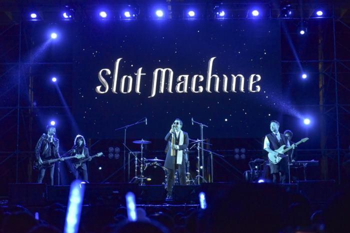 Slot Machine ส่งท้ายทัวร์เอเชีย สาดอนุภาคความร็อคใน Super Slippa 2016 Taipei Super Summer Music Festival