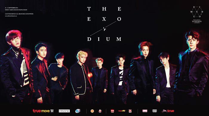 SM True พร้อมสร้างปรากฏการณ์ยิ่งใหญ่อีกครั้ง EXO PLANET #3 - The EXO'rDIUM – in BANGKOK