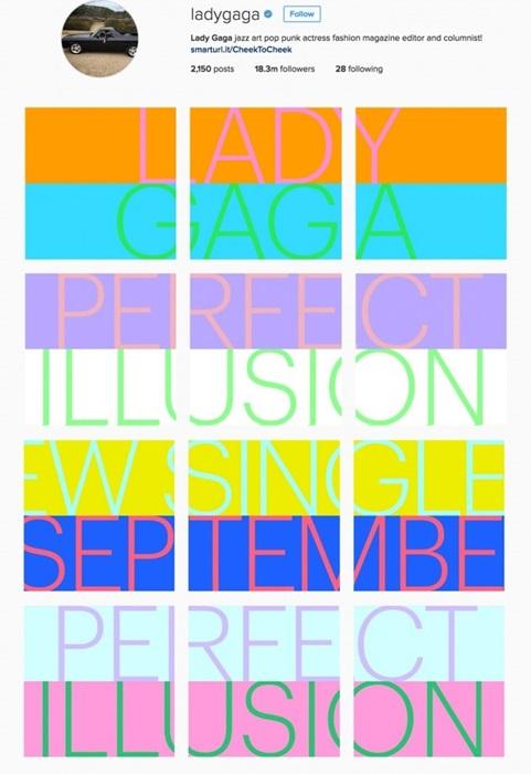 ยานแม่ลงจอด!! เลดี้ กาก้า ประกาศเพลงใหม่ Perfect Illusion