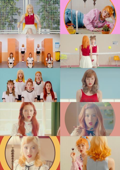 [Capture] Red Velvet - Russian Roulette MV