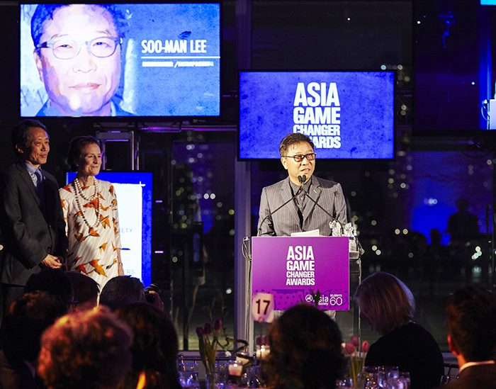 Lee Soo Man ผู้บริหารค่าย SM Ent. ชาวเกาหลีคนแรก ที่คว้ารางวัลจากงาน Asia Game Changer Awards